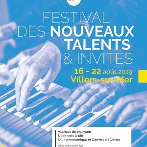 Concert de musiques de films spécial Jeune public au Festival de Musique de chambre de Villers sur Mer @ Salle de Cinéma du Casino