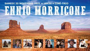 Concert Ciné-Trio spécial Ennio Morricone @ Temple de Port Royal