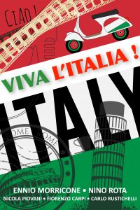 """Concert de musiques de films spécial """"Italie""""par le Ciné-Trio Théâtre Galli à Sanary sur Mer @ Théâtre Galli Sanary sur Mer"""